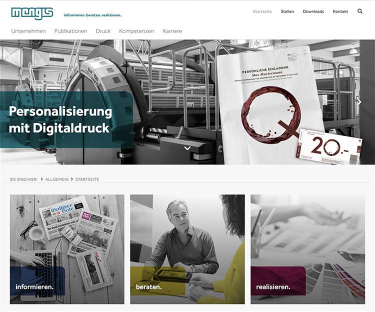 Referenz Webauftritt Webanwendung Webapplikation, indual GmbH, Brig