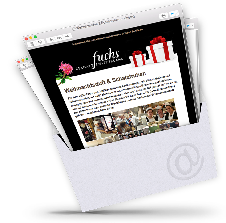 dodeley Newsletter System, Online Newsletter versenden