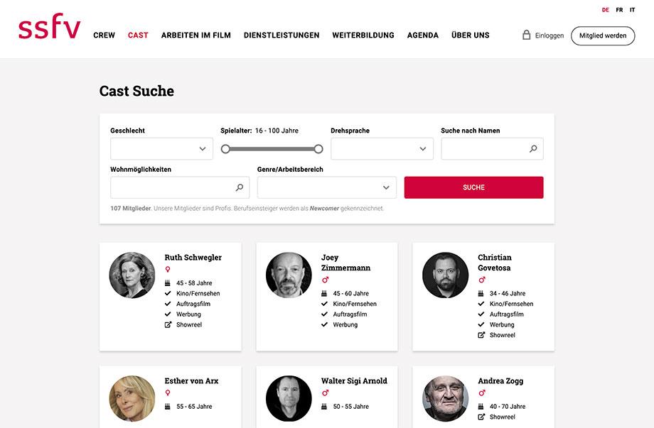 Weblösungen - Beliebige Erweiterung durch Module - Beispiel SSFV mit Mitgliederportal